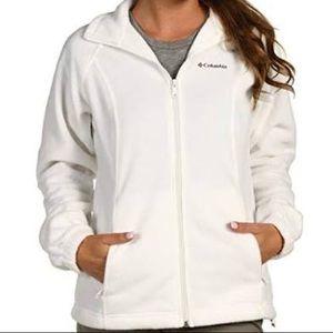 Columbia full zip women's fleece jacket
